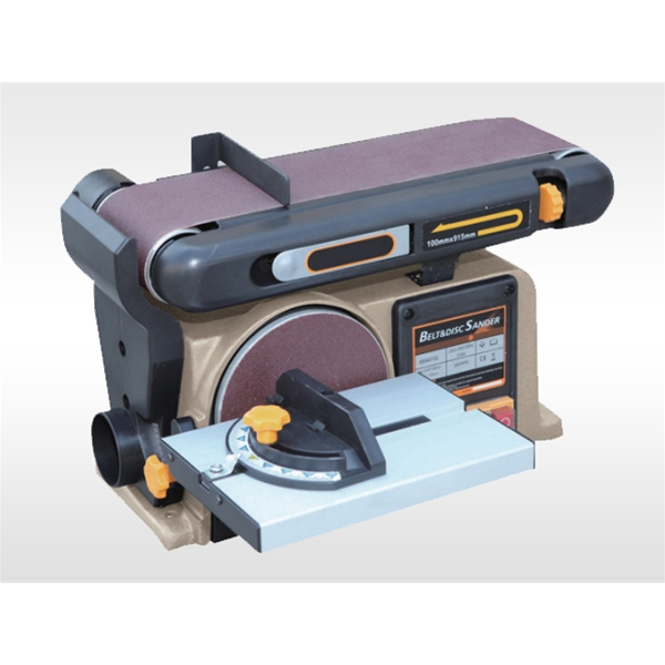 Abrasive belt machine